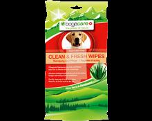 bogacare CLEAN & FRESH WIPES dog 15 pcs